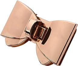 Gesh 1 Sets Portemonnee Twist Turn Lock Gouden Haak Doos Klinken Sluiting Tas Lock Trunk Purse Lock 60x38mm