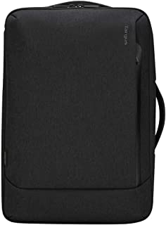 Targus Cypress Convertible Backpack with EcoSmart Designed for Business Traveler and School fit up to 15.6-Inch Laptop/Notebook, Black (TBB587GL)