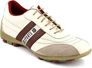 ID Men's White Casual Shoes
