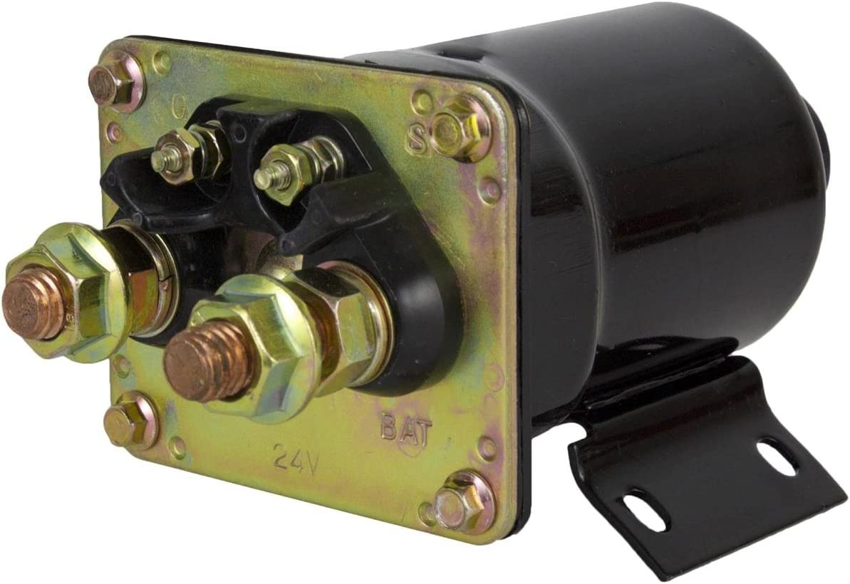 Cheap Rareelectrical NEW 24V Bargain sale STARTER SOLENOID BAC WITH COMPATIBLE CASE
