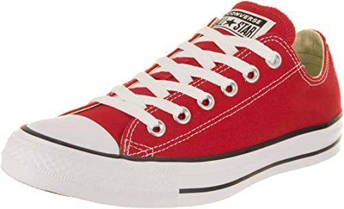 Converse Unisex Chuck Taylor All Star Ox Faible Top Classic rouge paniers - 6.5 B(M) US