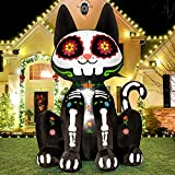 Rocinha Inflatable Black Cat Halloween Blow...