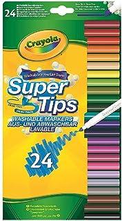 Crayola - 24 Feutres à dessiner - boîte française - Loisir créatif - Coloriage - papeterie - dessin - à partir de 3 ans - ...