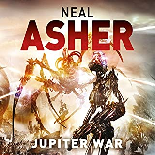 Jupiter War     Owner Trilogy, Book 3              By:                                                                                                                                 Neal Asher                               Narrated by:                                                                                                                                 Peter Noble                      Length: 15 hrs and 28 mins     156 ratings     Overall 4.7