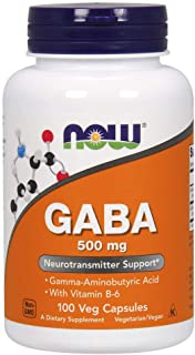 Now Foods Gaba 500mg, 100 Capsules