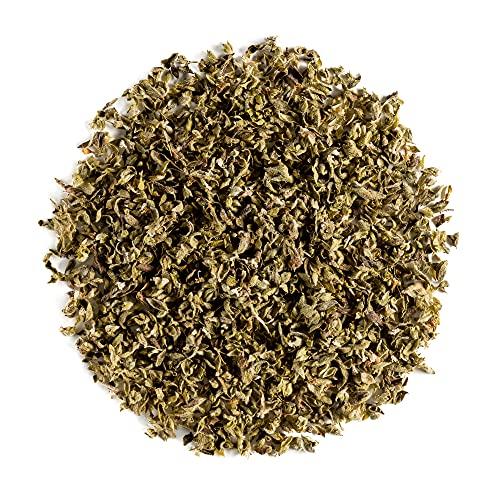 Origan Séché Cuisine Bio Qualité - Herbe Aromatique Typique Cuisine Italienne - Marjolaine Sauvage Biologique Vivace - Thé Herb Rouge Épice 100g