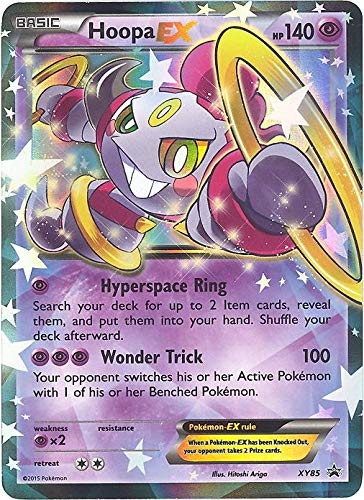 Pokemon - Hoopa-EX (XY85) - XY Black Star Promos - Holo