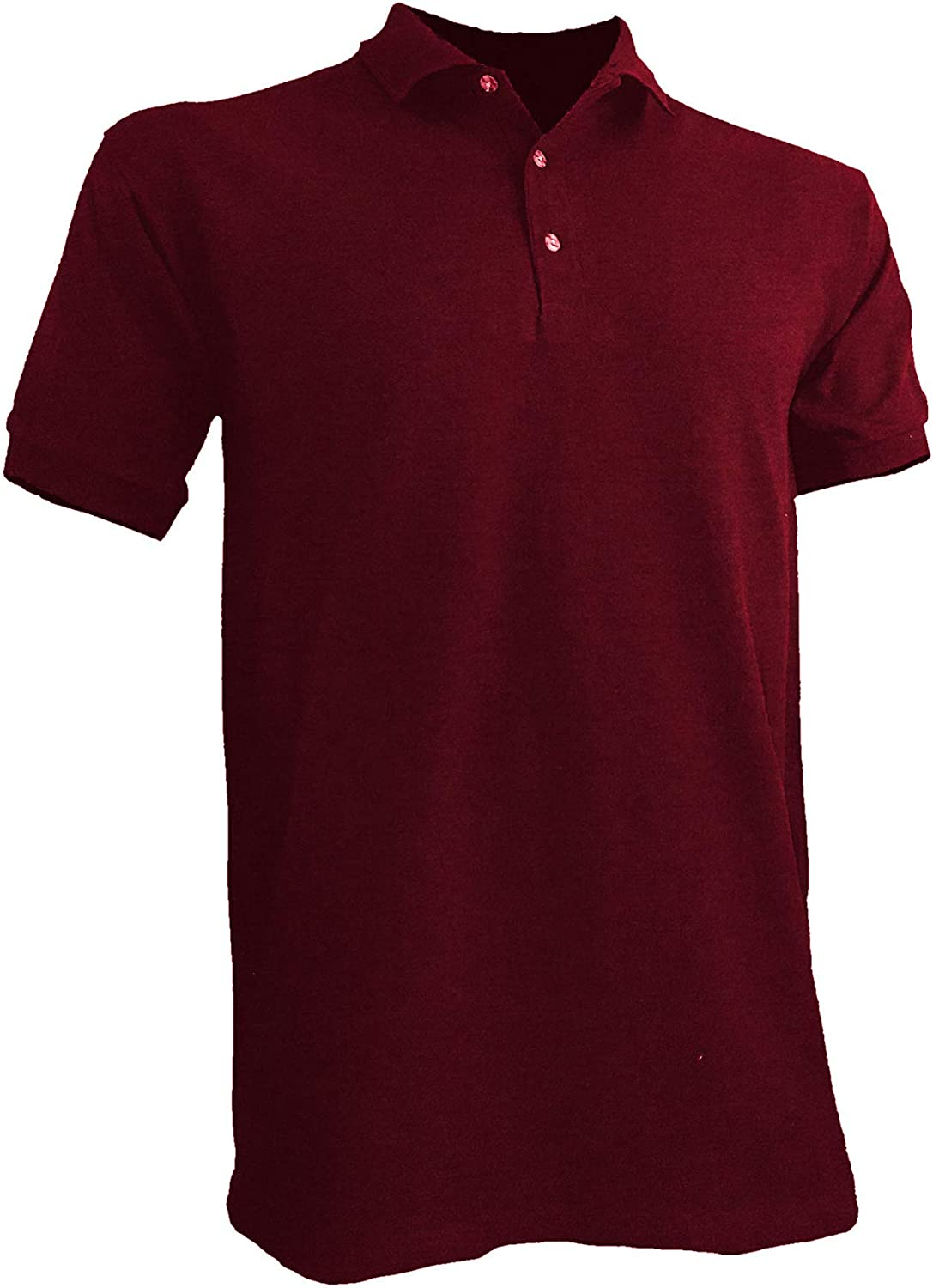 Styllion Big and Tall - Mens Jersey Polo Shirts - Heavy Weight - PJSS