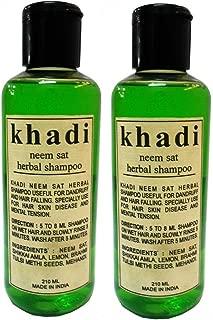 Khadi Neem Sat Shampoo Twin Pack- 420Ml