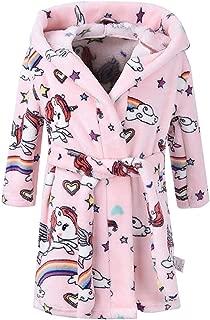 Baby Boys and Baby Girls Plush Fleece Bathrobes Hoodie