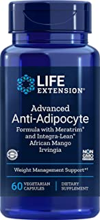 Sponsored Ad - Life Extension advanced Anti-Adipocyte Formula with meratrim and IntegraLean, African Mango Irvingia 60 Veg...