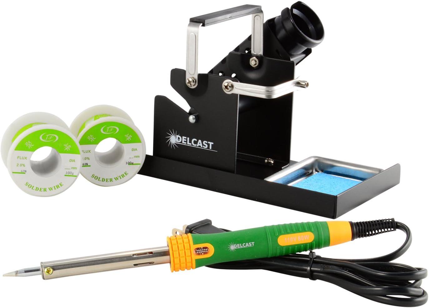 Delcast Soldering Pro Tool Low price Kit 60W Solderi Soldering Iron with