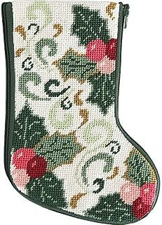 Stitch & Zip Della Robbia Mini Stocking Needlepoint Kit