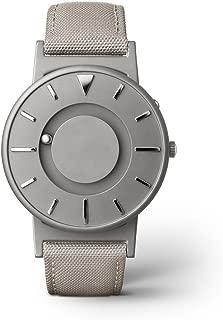 EONE Bradley Canvas Beige Strap Titanium Watch