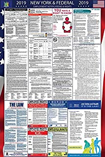 2019 New York and Federal Labor Law Poster