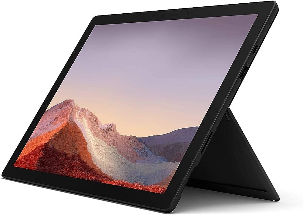Microsoft surface pro 7, core i5, ram 16 gb, ssd 256 gb, platinum PUW-00003