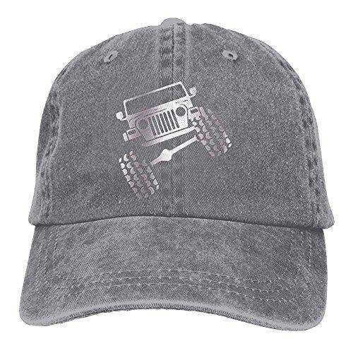 Jeep Wrangler Adjustable Cotton Hat