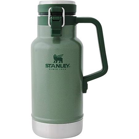 STANLEY(スタンレー) クラシック真空グロウラー 1L グリーン ビール 炭酸 保冷 おうち飲み アウトドア 保証 02111-013 (日本正規品)