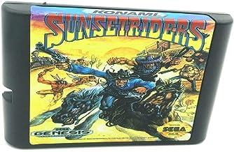 Royal Retro Sunset Riders pour console de jeux vidéo Sega Genesis et Mega Drive 16 bits (noir)