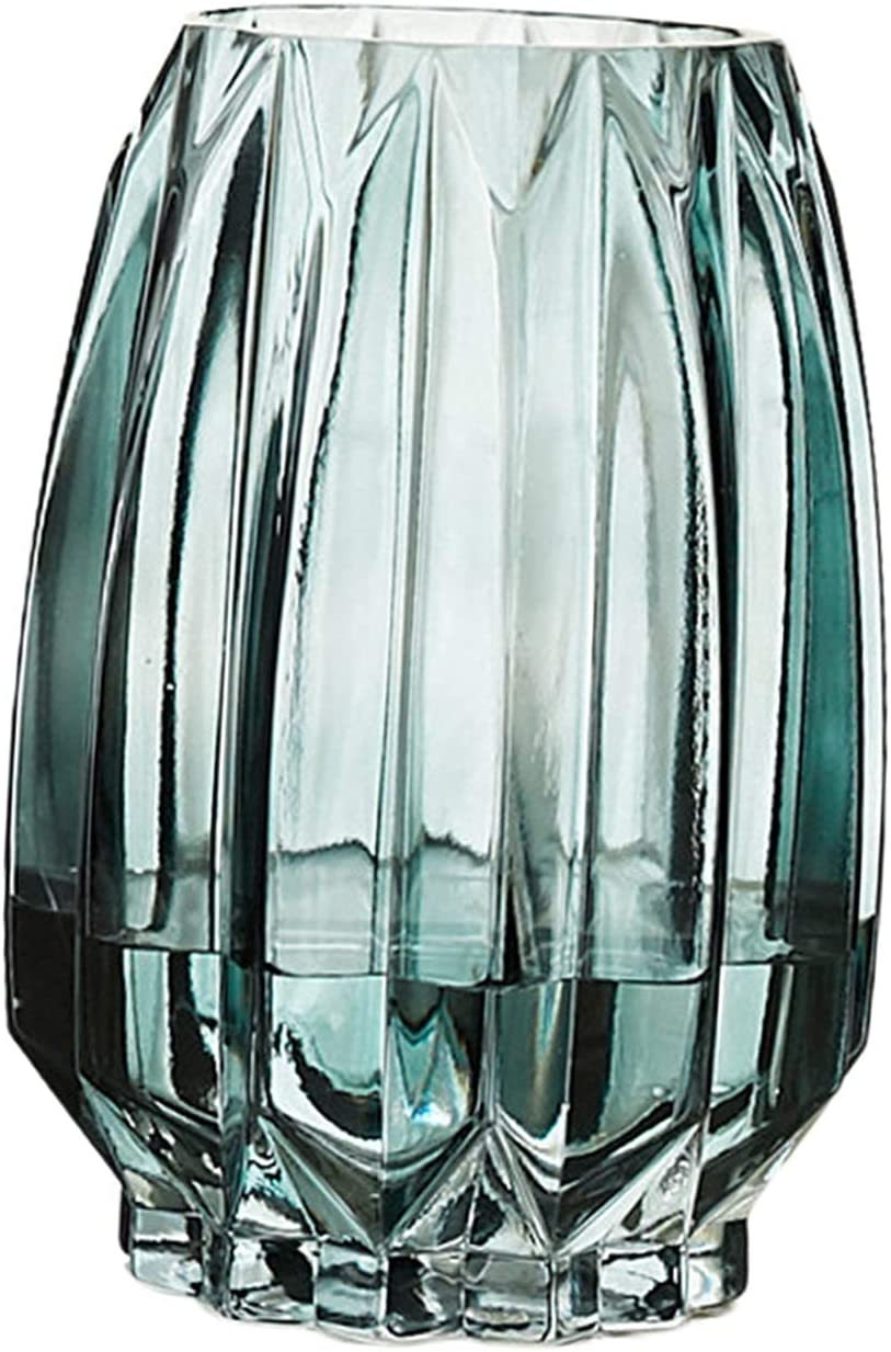 exari European Style Transparent Cheap bargain Thickened Vases Flower Crystal Max 54% OFF