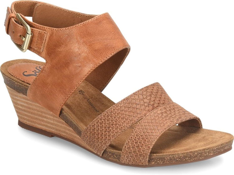 Sofft Womens Velden Open Toe Casual Platform Sandals