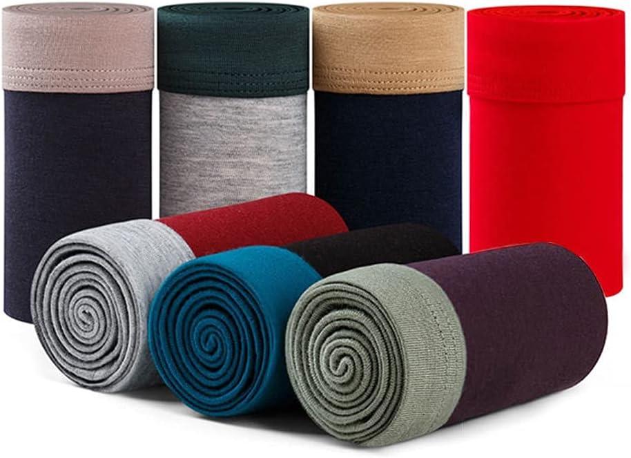 DIAOD Plus Size Men Seamless Underwear Breathable Underpants Man Panties 7XL 8XL 9XL (Color : Multicolor, Size : 6XL Waist 113-123CM)