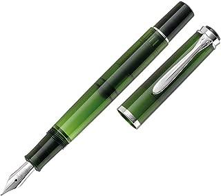 Pelikan M205 Olivine Special Edition Fountain Pen Broad Nib