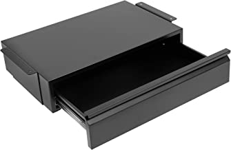 Mount-It! Under Desk Pull-Out Drawer Kit with Smooth Sliding Track | Office Storage Organizer | Mounts to Desktops Tables ...