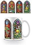 Pyramid International - Taza De The Legend Of Zelda - Modelo Stained Glass