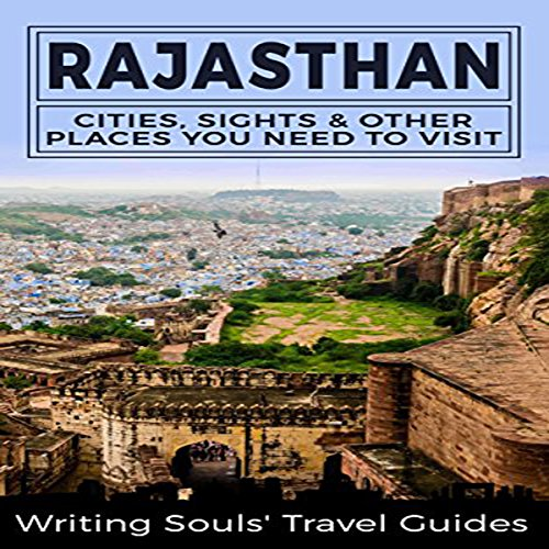 Rajasthan audiobook cover art