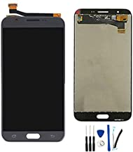 Full LCD Display Digitizer Touch Screen Assembly Replacement for Galaxy J7 V J727V / J7 2017 J727A / J7 Perx J727P SM-J727V SM-J727P /J7 Prime J727T/ J7 Sky Pro J727PZKASPR 5.5