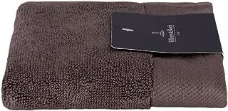 Villeroy & Boch Plain Face Towel, Dark Grey, Set of 4