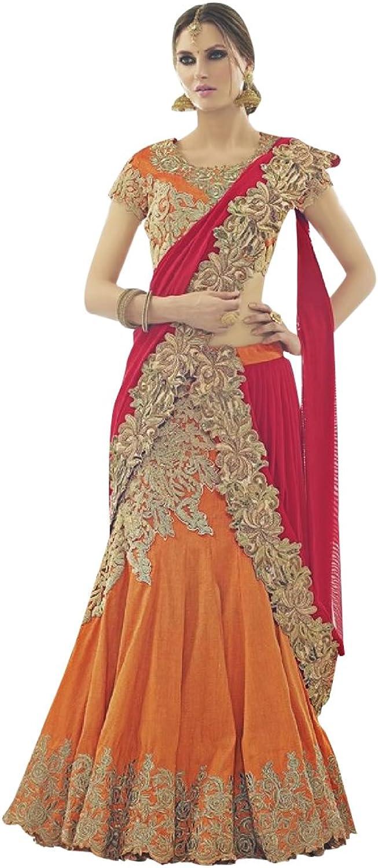 Bridal Women Collection Lehenga Choli Dupatta Ceremony Wedding Punjabi 617 13
