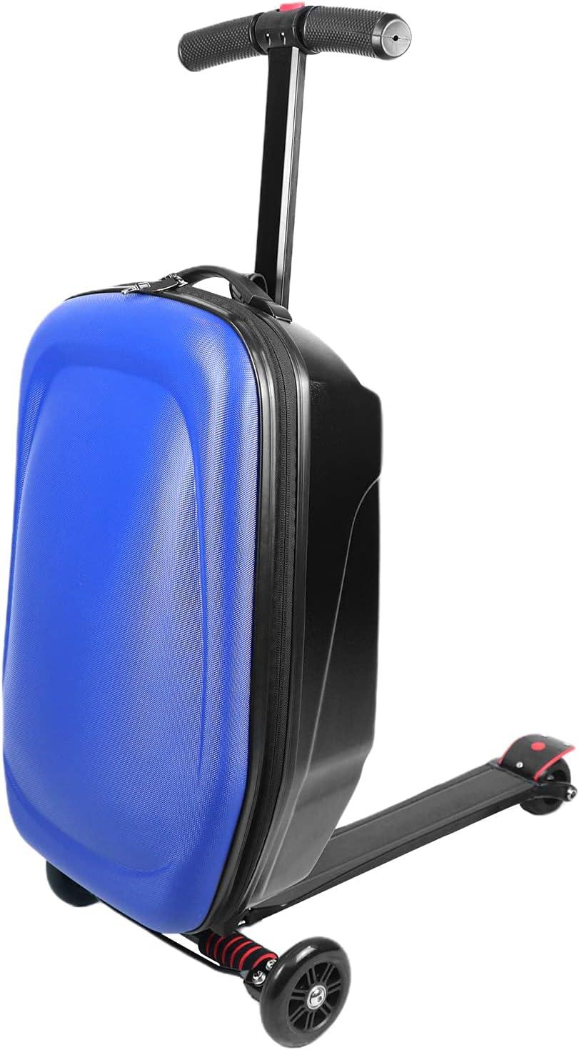 EC Homelife 21英寸可折叠行李箱滑板车