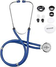 استتوسکوپ برای پزشکی و قلب و عروق ، طراحی سبک وزن سبک کلاسیک Yuwell Dual Head Double ، استتوسکوپ دو کاتتری برای مصارف چند منظوره ، هدیه برای پرستاران ، پزشکان ، دانشجویان پزشکی
