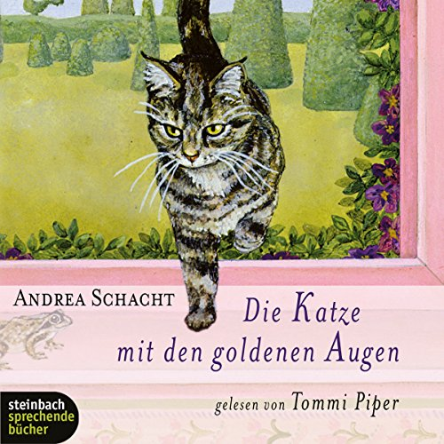 Die Katze mit den goldenen Augen audiobook cover art