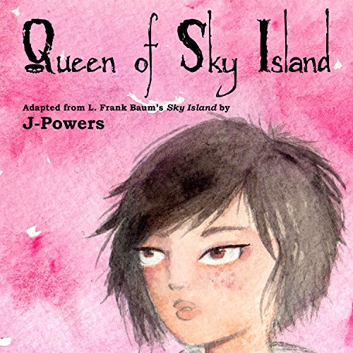 Queen of Sky Island audiobook cover art