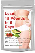 Greenleaf Slimming Diet Pills – Weight Loss Capsules for Men and Woman – Lose 15LBS in 5 Days Premium Slimming Pills Green Tea Extract Diet Pills Estimated Price : £ 11,99