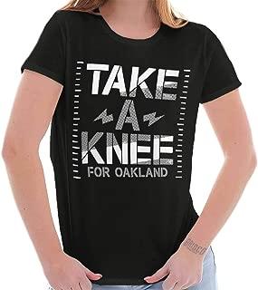 Take Knee Baltimore Kaepernick Protest Ladies T Shirt