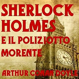 Sherlock Holmes e il poliziotto morente copertina