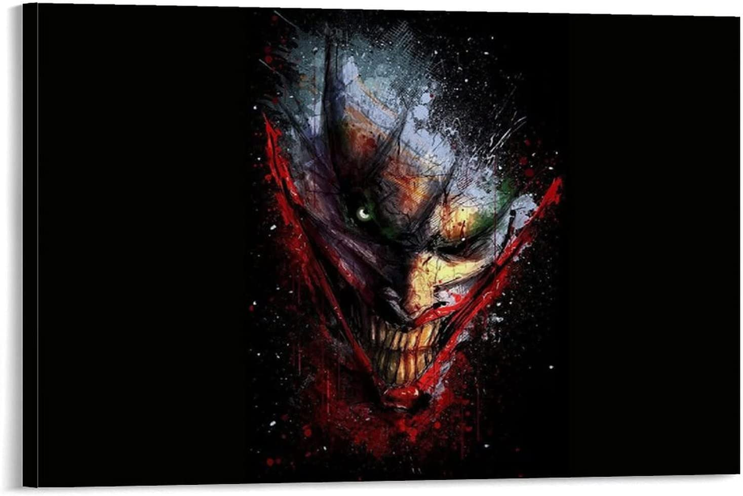 sdgd We OFFer at cheap prices Halloween Horror Demon Art Free shipping on posting reviews Poster Canvas Poste Abstract