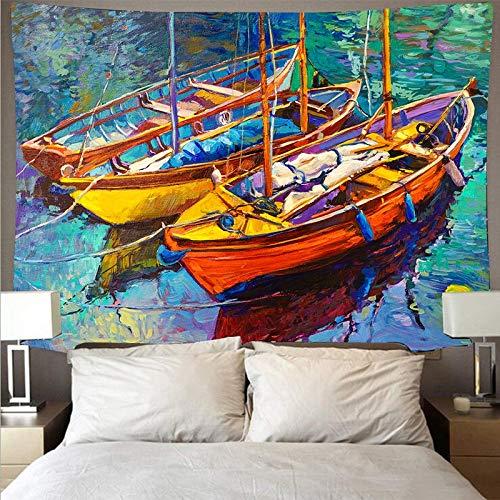 Pittura a olio murale panno appeso sfondo panno arte decorazione della parete stampa grande arazzo decorazione della casa sfondo panno a5 130x150cm