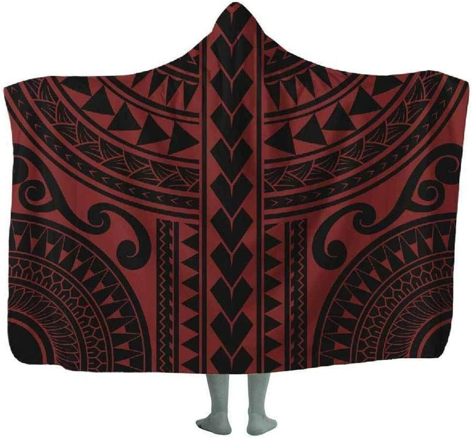 Overseas parallel import regular item Personalized Makai Hooded Blanket Wearable Lined Warm Cheap bargain Soft Plush