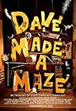 Kirbis Dave Made A Maze Movie Poster 18 x 28 Inches