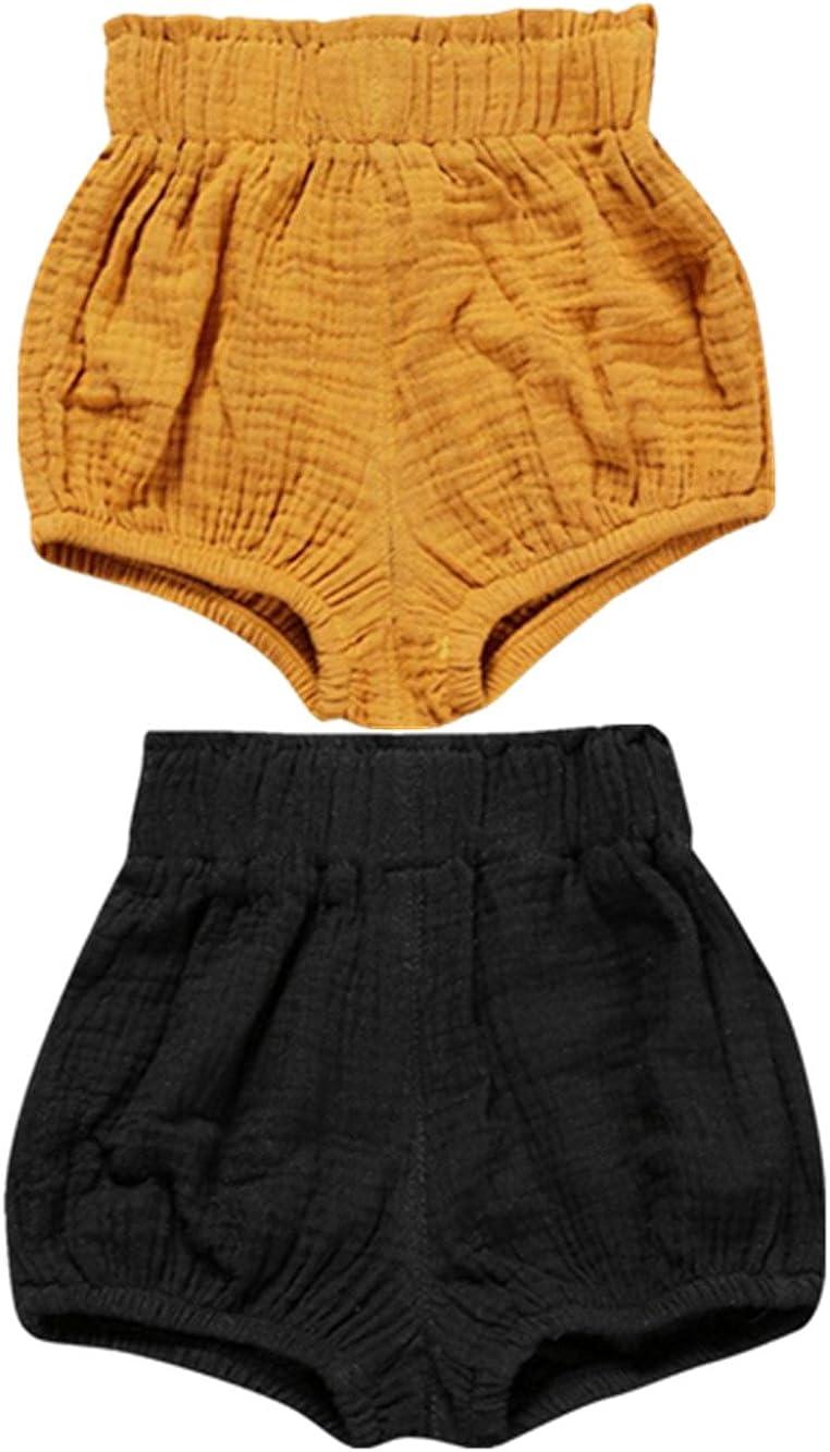 Max 53% OFF AYIYO 2pcs Baby Infant Bloomer Shorts Max 89% OFF Har Loose Dots Floral Cute