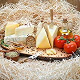 Marky's Italian Cheese Assorted Gift Box – 5 Cheeses Sampler – Gorgonzola Piccante, Gorgonzola Linea Oro, Pecorino Romano, Pecorino Toscano Stagionato, Pecorino Toscano - Only cheese is included