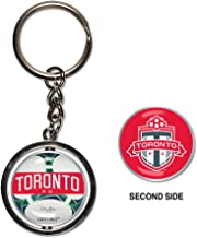 Soccer Spinner Key Ring