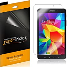 (3 Pack) Supershieldz for Samsung Galaxy Tab 4 7.0 inch Screen Protector, High Definition Clear Shield (PET)