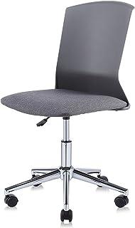 MY SIT Silla de oficina giratoria escritorio taburete altura ajustable cuero sintético sillón diseño silla Nuevo NEO in Gris