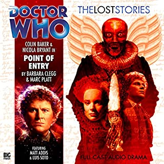 Doctor Who - The Lost Stories - Point of Entry audiobook cover art